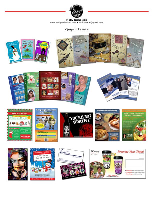 Graphic Design Work Samples Graphic Design Samples